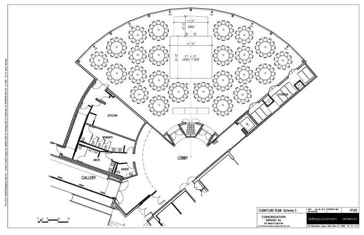Schweitzer Center Layout w_tables