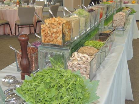 4.10.19 Luncheon Salad buffet